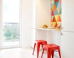Apartament 60-metrowy w Kielcach - całość - Kuchnia, styl nowoczesny - zdjęcie od Paweł Liszewski