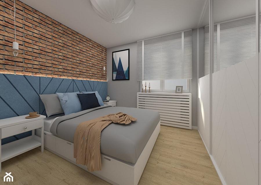 Apartament Kraków 2019 - Sypialnia, styl nowoczesny - zdjęcie od MJ Design Monika Juszczel