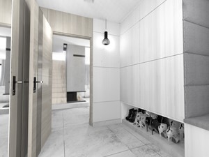 Wiatrołap w domu jednorodzinnym - zdjęcie od MILO studio