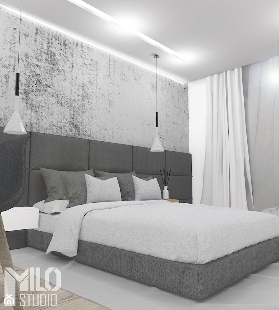 Sypialnia W Szarościach Ii Zdjęcie Od Milo Studio Homebook