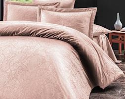 Pościel satyna bawełniana, kolekcja Luxury Premium, Sal Light Pink, Darymex - zdjęcie od Darymex - Homebook