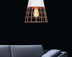 Lampa wisząca industrialna loft biała bagsy Darymex - zdjęcie od Darymex - Homebook