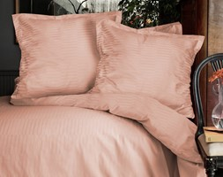 Pościel satyna bawełniana, kolekcja Luxury Premium, Rythm Powder, Darymex - zdjęcie od Darymex - Homebook