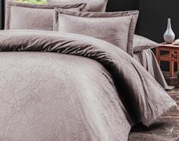 Pościel satyna bawełniana, kolekcja Luxury Premium, Sal Light Lila, Darymex - zdjęcie od Darymex - Homebook