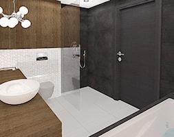 Dom okolice Bydgoszczy - Średnia łazienka bez okna, styl nowoczesny - zdjęcie od Belleville home & living