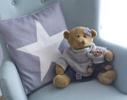 MIESZKANIE PASTELOWE - Mały szary pokój dziecka dla chłopca dla malucha, styl klasyczny - zdjęcie od Belleville home & living
