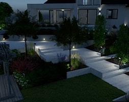 Projekt+ogrodu+nowoczesnego%2C+ok.+2000+m2+w+Bart%C4%85gu+noc%C4%85+-+zdj%C4%99cie+od+Merantti+design+Anna+Koronowska