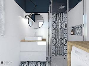 Mała łazienka w bloku - zdjęcie od IN DESIGN STUDIO