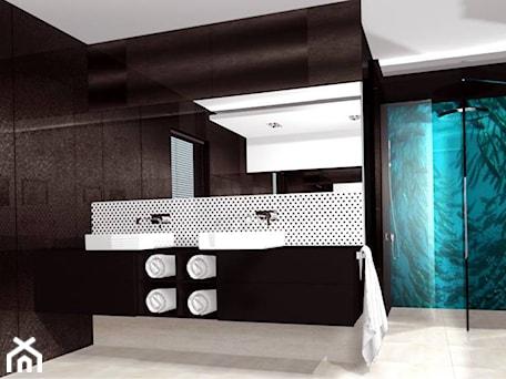 Aranżacje wnętrz - Łazienka: Projekt wnętrz domu jednorodzinnego w Ostrowie koło Łasku - Am Design Studio projektowania wnętrz. Przeglądaj, dodawaj i zapisuj najlepsze zdjęcia, pomysły i inspiracje designerskie. W bazie mamy już prawie milion fotografii!