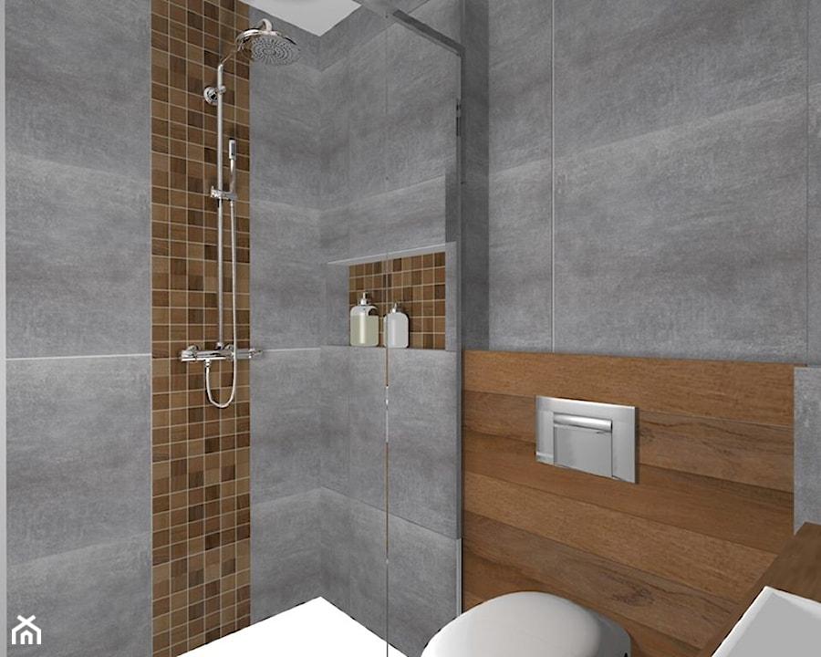 Projekt metamorfozy 43-metrowego mieszkania w bloku z wielkiej płyty - zdjęcie od Am Design ...