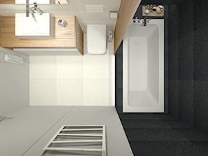 Łazienka - dom jednorodzinny Zduńska Wola