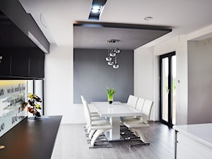 Jadalnia w Michałowie - zdjęcie od Am Design Studio projektowania wnętrz