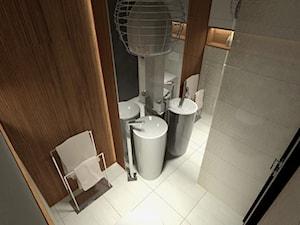 Projekt niewielkiej łazienki