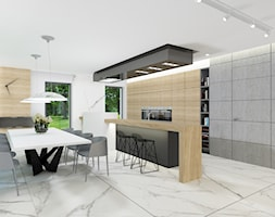 Jadalnia+z+kuchni%C4%85+-+zdj%C4%99cie+od+4Q+Dekton+Pracownia+Architektoniczna