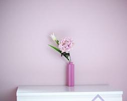 Różowy pokój z białymi mebelkami - zdjęcie od 123budujemy.pl - Homebook
