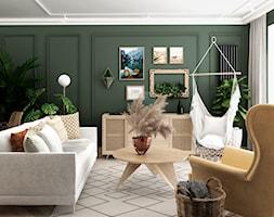 mieszkanie #21 - Salon, styl eklektyczny - zdjęcie od JUST studio projektowe - Homebook