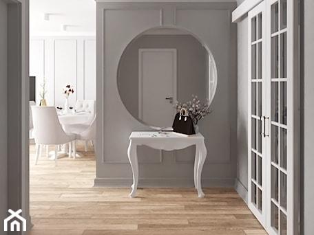 Aranżacje wnętrz - Hol / Przedpokój: mieszkanie #18, Białystok - Hol / przedpokój, styl klasyczny - JUST studio projektowe. Przeglądaj, dodawaj i zapisuj najlepsze zdjęcia, pomysły i inspiracje designerskie. W bazie mamy już prawie milion fotografii!