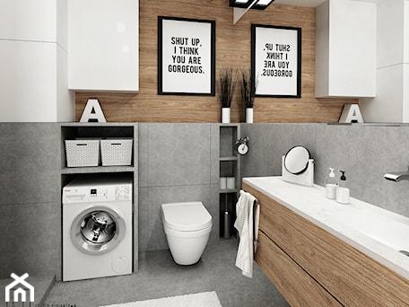 Aranżacje wnętrz - Łazienka: mieszkanie #2, Białystok - Łazienka, styl nowoczesny - JUST studio projektowe. Przeglądaj, dodawaj i zapisuj najlepsze zdjęcia, pomysły i inspiracje designerskie. W bazie mamy już prawie milion fotografii!