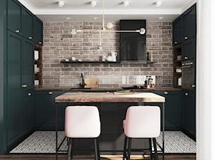 butelkowa kuchnia - zdjęcie od JUST studio projektowe
