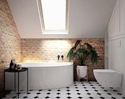 łazienka #15 - Łazienka, styl eklektyczny - zdjęcie od JUST studio projektowe - Homebook