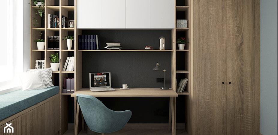 Biurko w szafie – poznaj zalety aranżacji z biurkiem ukrytym w szafie