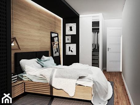 Aranżacje wnętrz - Sypialnia: mieszkanie #2, Białystok - Sypialnia, styl nowoczesny - JUST studio projektowe. Przeglądaj, dodawaj i zapisuj najlepsze zdjęcia, pomysły i inspiracje designerskie. W bazie mamy już prawie milion fotografii!