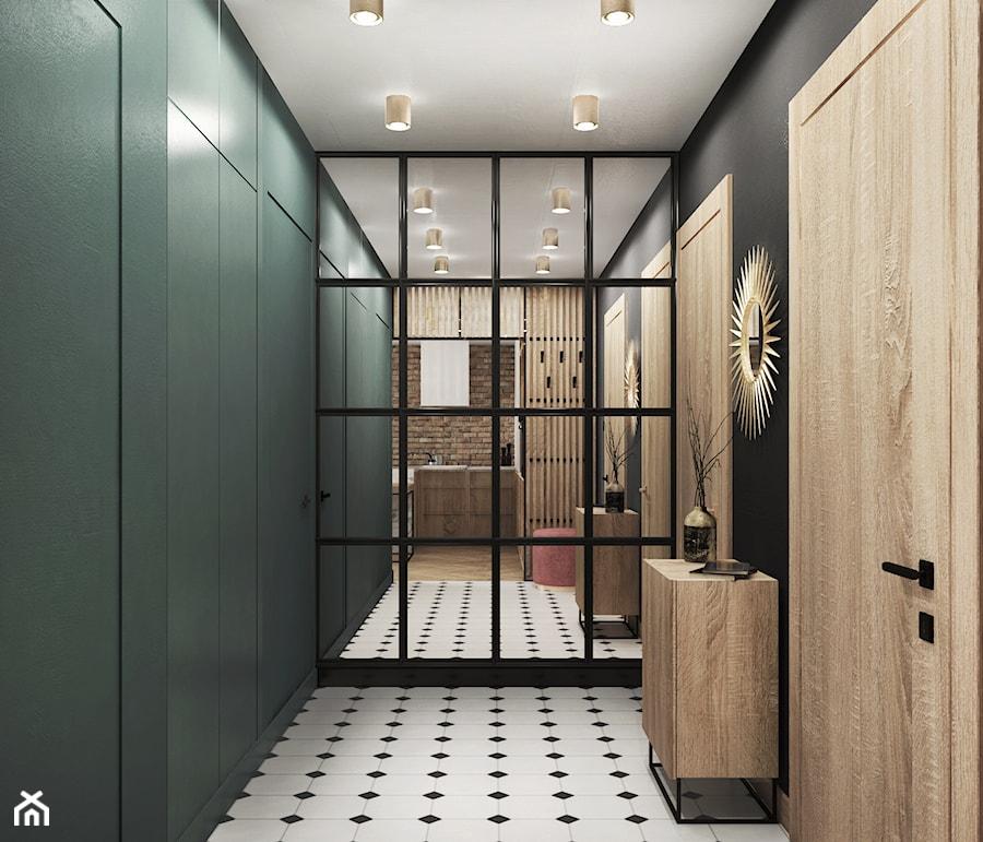 mieszkanie #15, Białystok - Hol / przedpokój, styl eklektyczny - zdjęcie od JUST studio projektowe