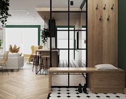 mieszkanie #21 - Hol / przedpokój, styl eklektyczny - zdjęcie od JUST studio projektowe - Homebook