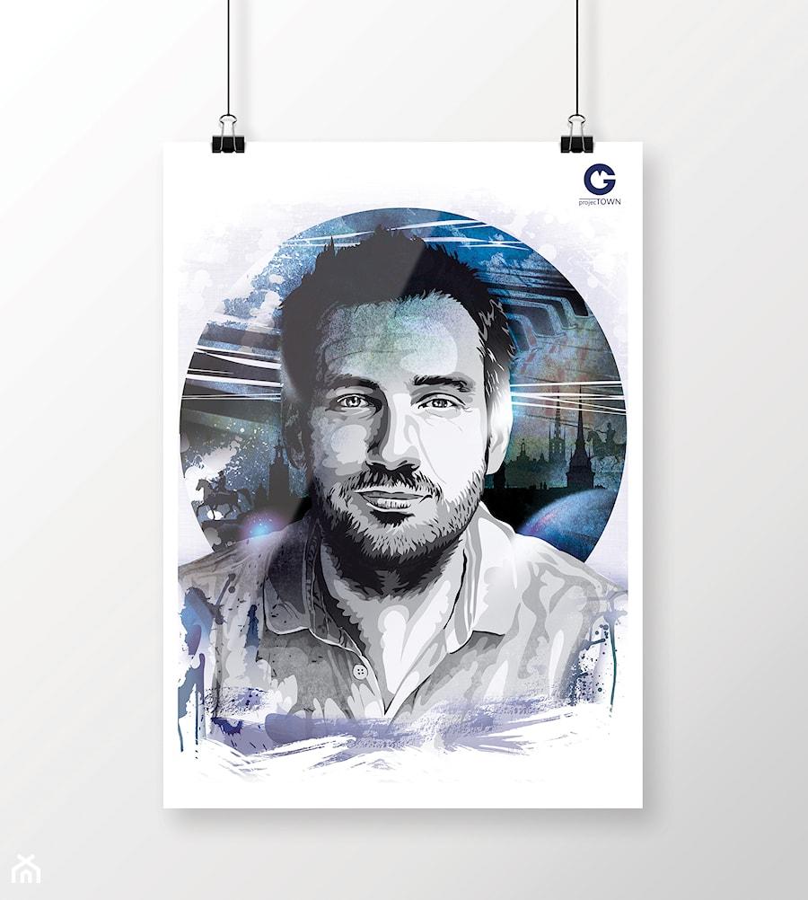 Portret Na Zamówienie Jako Plakat Zdjęcie Od Projectown
