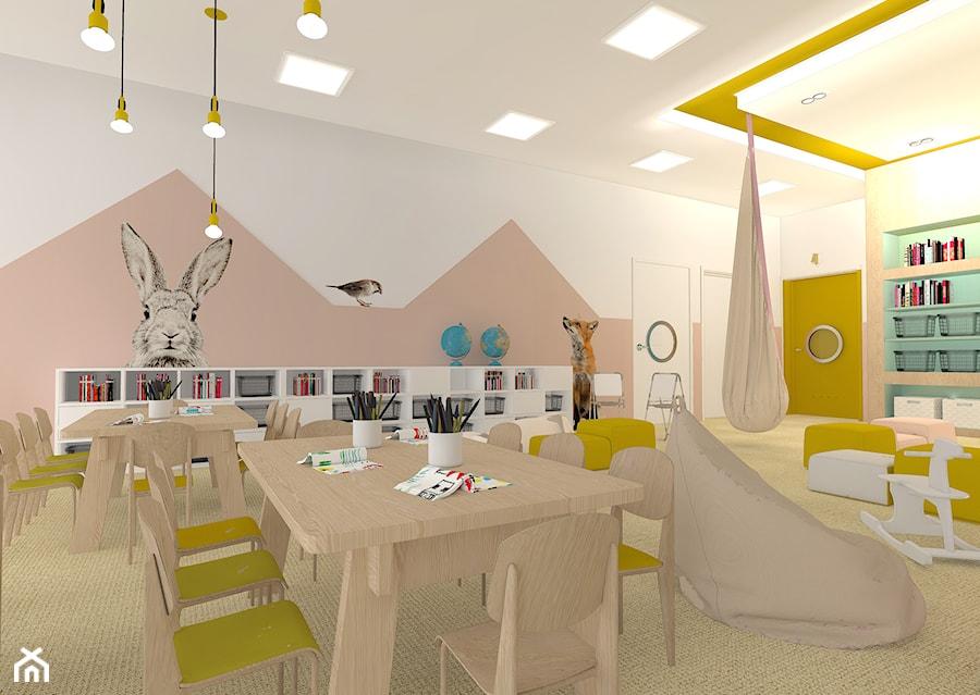 Z Classroom Design : Nowoczesne przedszkole wnętrza publiczne styl