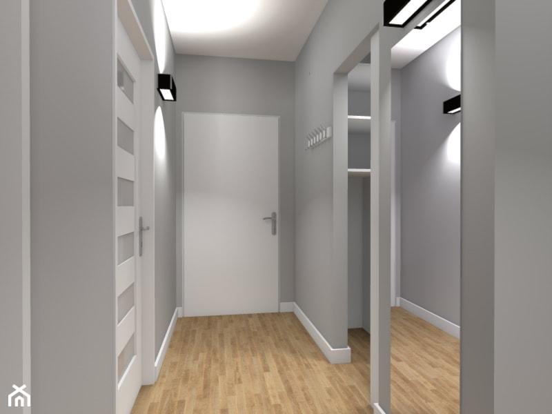 Mieszkanie 63m2 Na Warszawskim Bemowie Hol Przedpok 243 J