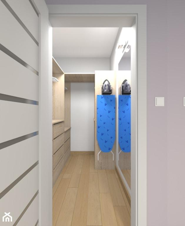 Mieszkanie w Warszawie 113m2 - Garderoba - zdjęcie od Medyńscy Projektowanie