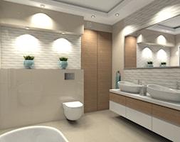 Łazienka styl Nowoczesny - zdjęcie od Medyńscy Projektowanie