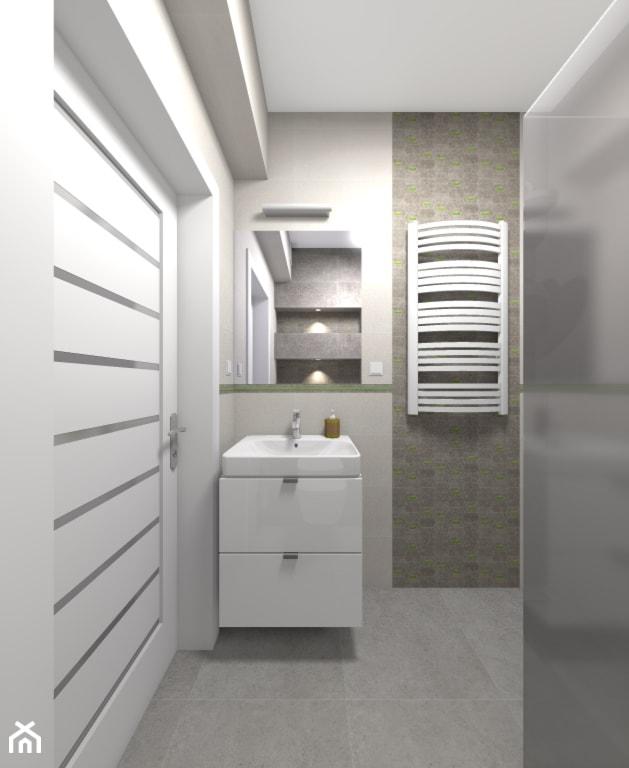 Mieszkanie w Warszawie 113m2 - Łazienka - zdjęcie od Medyńscy Projektowanie