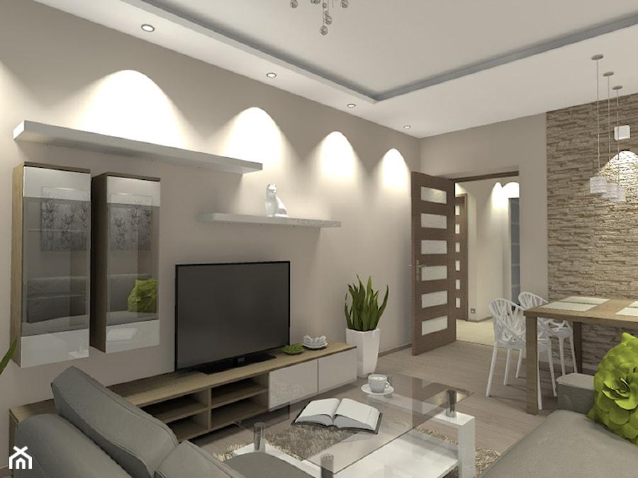 mieszkanie w r dmiejskim bloku warszawa salon styl nowoczesny zdj cie od medy scy. Black Bedroom Furniture Sets. Home Design Ideas