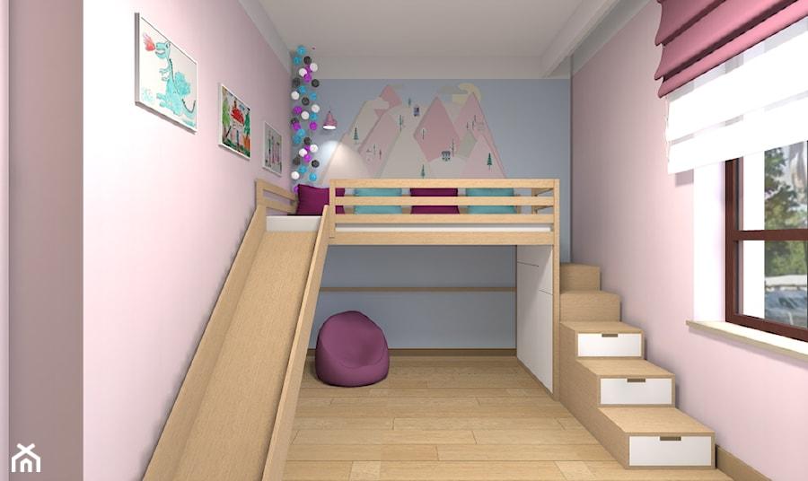 Aranżacje wnętrz - Pokój dziecka: Mieszkanie w Warszawie 113m2 - Mały różowy niebieski pokój dziecka dla chłopca dla dziewczynki dla malucha dla nastolatka - Medyńscy Projektowanie. Przeglądaj, dodawaj i zapisuj najlepsze zdjęcia, pomysły i inspiracje designerskie. W bazie mamy już prawie milion fotografii!