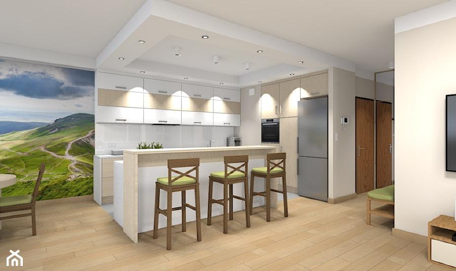 Mieszkanie w Warszawie 113m2 - Kuchnia - zdjęcie od Medyńscy Projektowanie