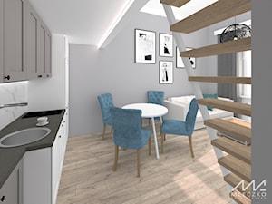 Apartament z antresolą - zdjęcie od mleczko architektura