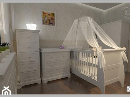 Pokój dziecięcy klasyczny w kolorach biel, brąz, beż - zdjęcie od KP Produkcja Archi-Tektury