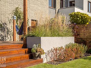 Ogród z małą architekturą - realizacja