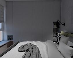 Nowoczesna+sypialnia+z+elementem+betonu+-+zdj%C4%99cie+od+Bello+Arti+Agata+Michalak