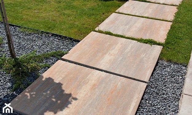 płyta tarasowa, nowoczesny ogród