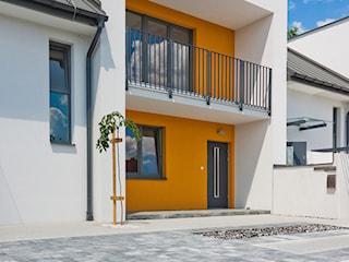 Aranżacja przestrzeni wokół domów szeregowych