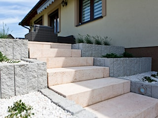 Stopnie blokowe, czyli szybki sposób na budowę funkcjonalnych i estetycznych schodów zewnętrznych