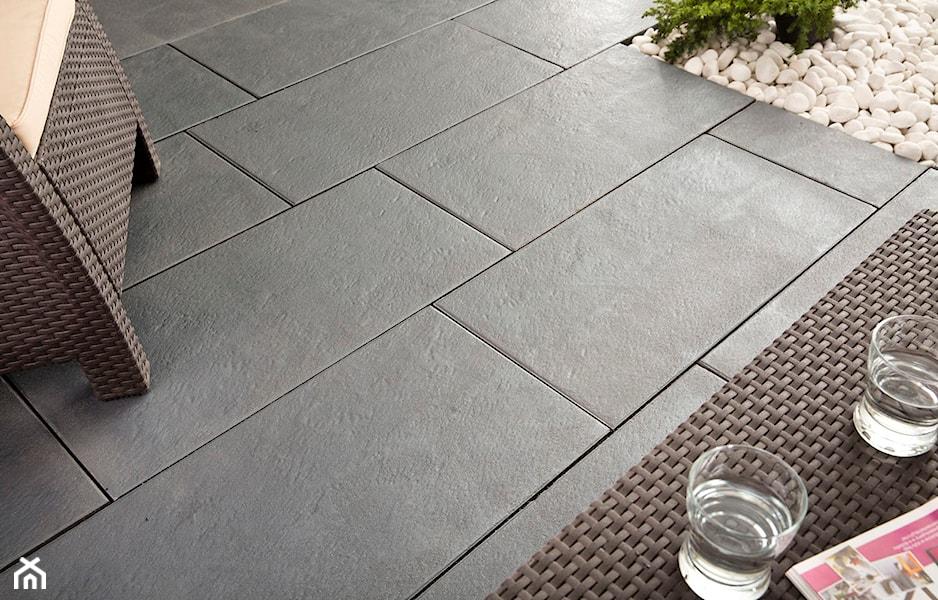 wielkoformatowe płyty tarasowe inspirowane betonem