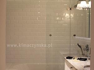 Łazienka, styl eklektyczny - zdjęcie od Autorska Pracownia Architektury Wnętrz Katarzyna Kimaczyńska