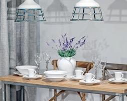 Jadalnie - Lampy wiszące Aluro Spot, porcelana - zdjęcie od sodo.pl