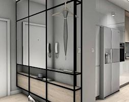 Projekt Mieszkania 62m2 - Warszawa Bemowo - Hol / przedpokój, styl industrialny - zdjęcie od GoHome - Homebook