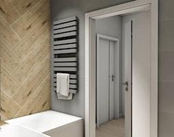 Projekt Mieszkania 62m2 - Warszawa Bemowo - Łazienka, styl nowoczesny - zdjęcie od GoHome - Homebook