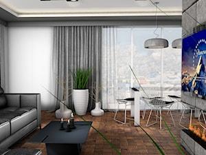 Projekt Apartamentu 95m2 - Warszawa